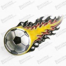 BALLON DE FOOTBALL EN FLAMMES