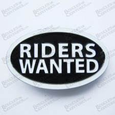 """RIDERS WANTED"""